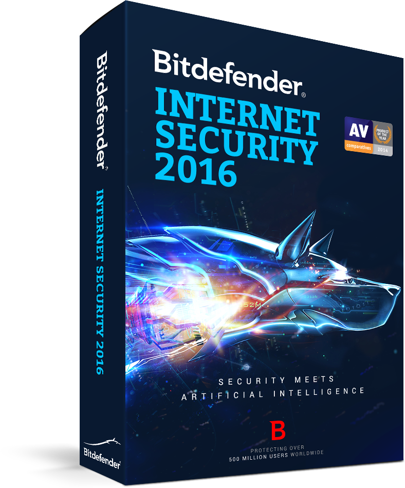 6-Months Bitdefender Internet Security 2016 (PC Digital Download)  Free
