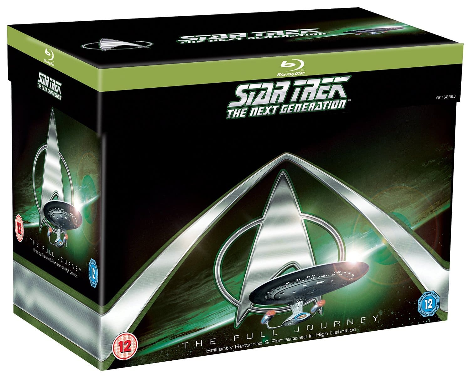 Star Trek TNG Complete Blu-Ray Series Region Free - $108.70 at  Zavvi