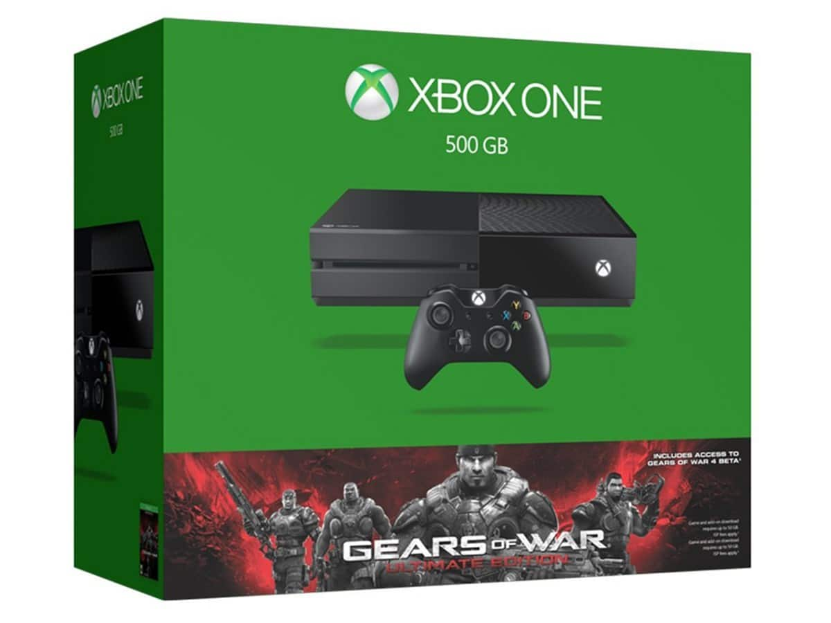Xbox One 500GB Gears of War Console Bundle + Free Game + $60 Gift Card  $299 & More + Free S/H