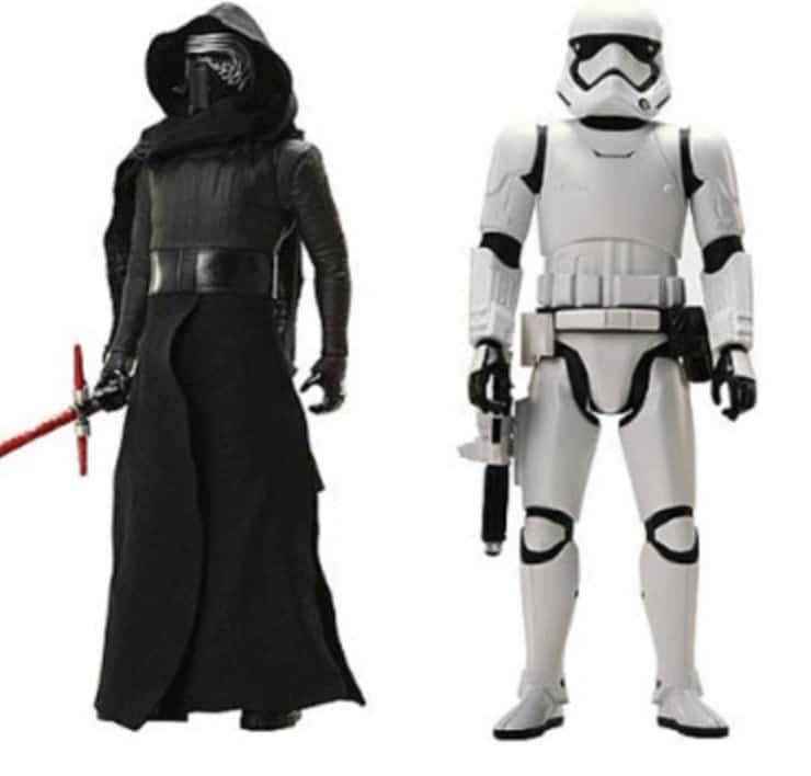 Star Wars 18″ Action Figures $9.99 Each + Free Store Pickup @ Kmart