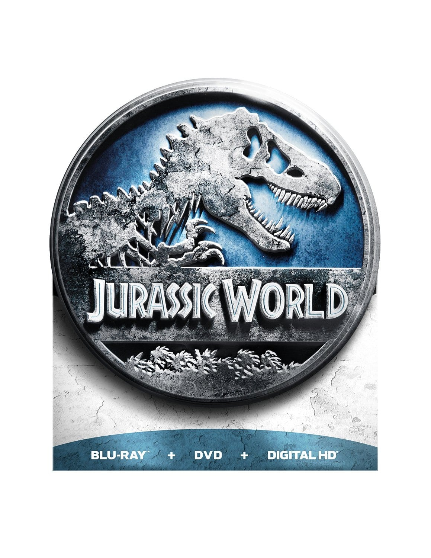 Jurassic World (Limited Edition) (Blu-ray + DVD + Digital HD) $10 @ Amazon