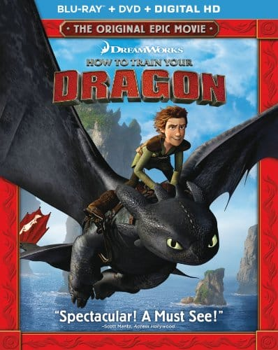 How to Train Your Dragon (Blu-ray + DVD + Digital HD) $6 + Free Shipping