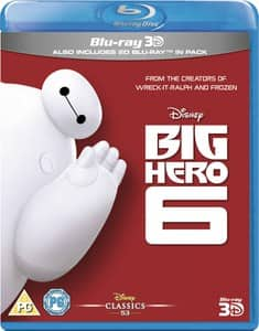 Big Hero 6 [Blu-ray 3D + Blu-ray] $15 Shipped
