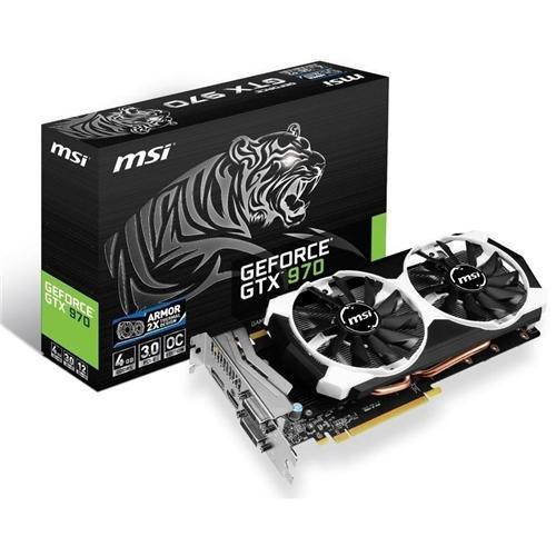 MSI GeForce GTX 970 OC 4GB GDDR5 Video Card + Game  $270 after $30 Rebate + Free S&H