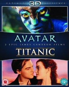 James Cameron's Avatar / Titanic [3D + Blu-ray] $21.56 Shipped