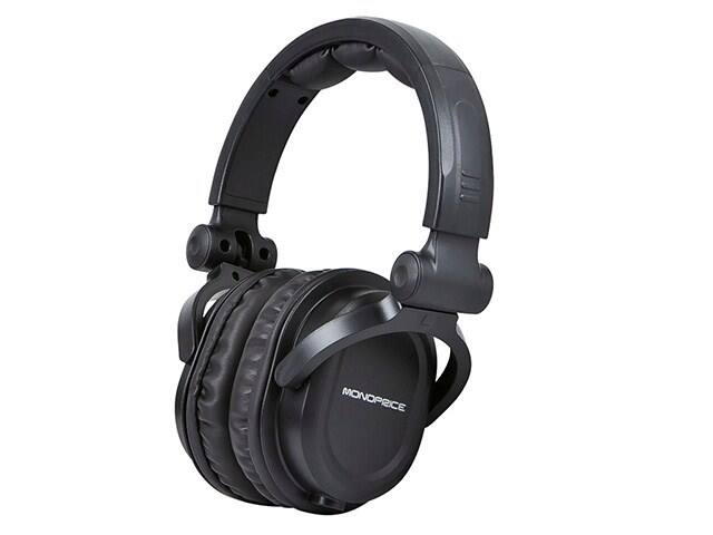 Premium Hi-Fi DJ Style Over-the-Ear Pro Headphone $15.99 - Monoprice - Free shipping