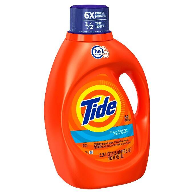 5x 100oz Tide Liquid Laundry Detergent (Various)  $37 + Free Shipping