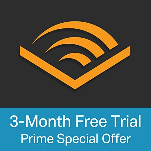 3-month Audible trial membership FREE for Amazon Prime members, YMMV