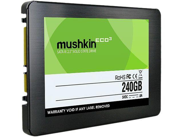 "Mushkin Enhanced ECO3 2.5"" Solid State Drives: 480GB $120, 240GB  $65 + Free Shipping"