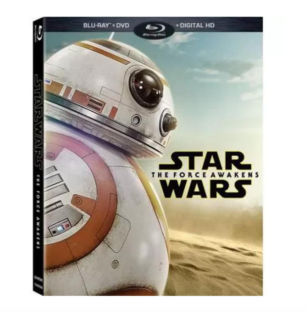 Star Wars: The Force Awakens (Blu-ray/DVD/Digital) Exclusives: Walmart $19.96, Target $24.99 or Best Buy Steelbook $29.99 Pre-Orders