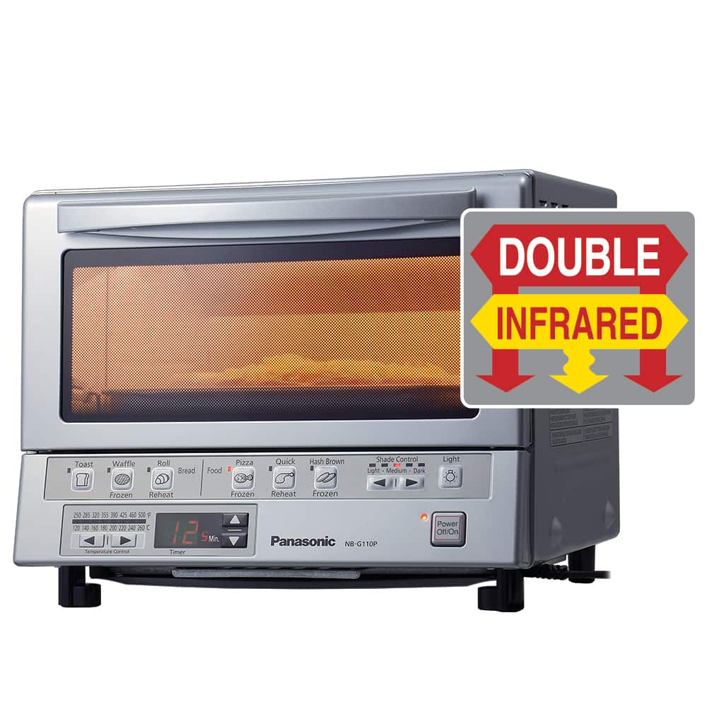 Panasonic FlashXpress Toaster Oven w/ Double Infrared Heating  $96 + Free Shipping