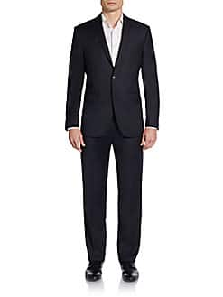Saks Fifth Avenue Men's Wool Suits (Various Style & Sizes)  2 for $350 + Free Shipping