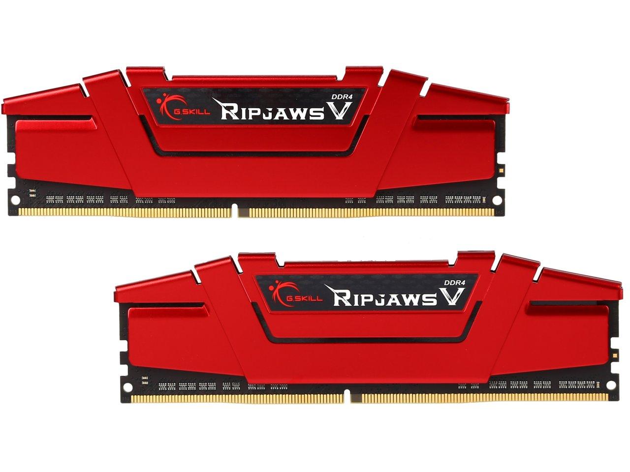 32GB (2x16GB) G.SKILL Ripjaws V Series DDR4 2133 Desktop Memory  $90 + Free S&H