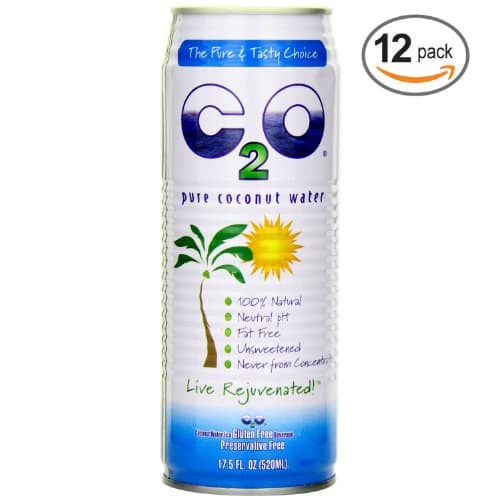 C2O Pure Coconut Water, 17.5 Ounce (Pack of 12) $14.87 15% s&s 20% ac