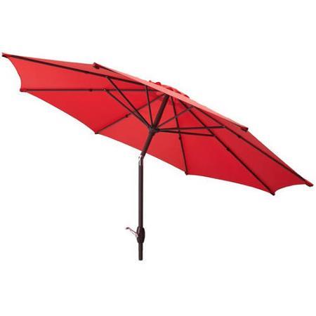 9' Mainstays Patio Market Umbrella w/ Tilt & Crank (various colors)  $30 + Free Store Pickup