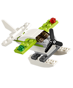 Free LEGO Sea Plane Mini Model Build @ Lego Stores  (6/7 & 6/8 Only, Registeration Open Now, VIPs Only )