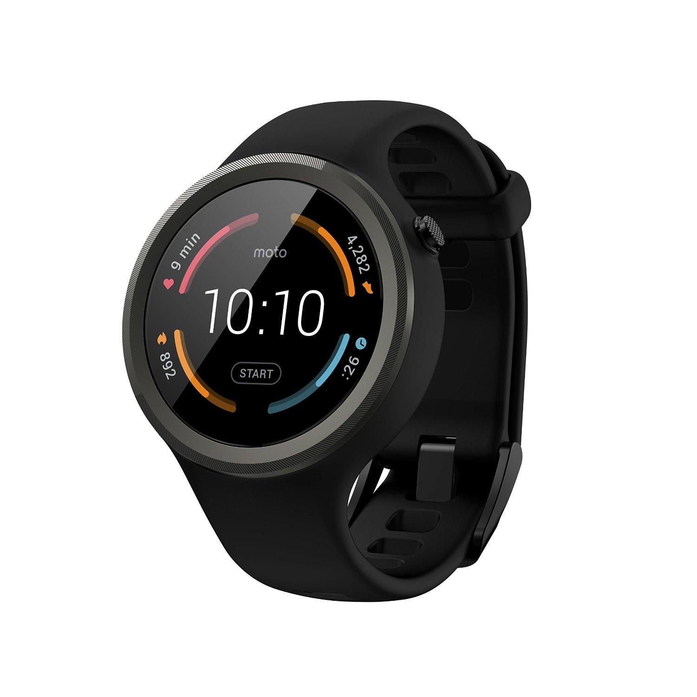 Motorola Moto 360 Sport Smartwatch (Black)  $120 + Free Shipping