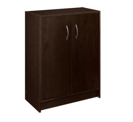 ClosetMaid Stackable 2-Door Organizer (Espresso) $23.98 + Free Store Pickup @ Walmart