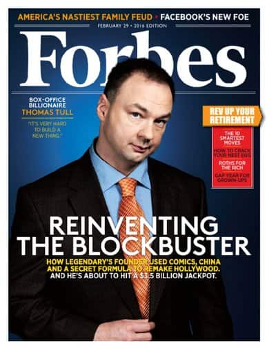 Forbes Magazine $4.99 per year
