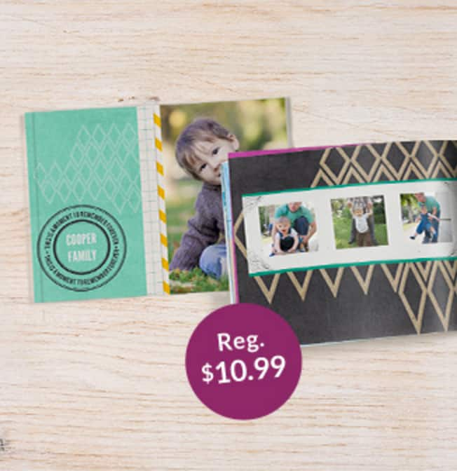 "20-Page 5""x7"" Custom Softcover Photo Book  Free + $4 Shipping (New Customers)"