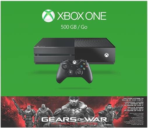 Xbox One 500GB Gears of War: Ultimate Edition Console Bundle - $229.99 @ Newegg