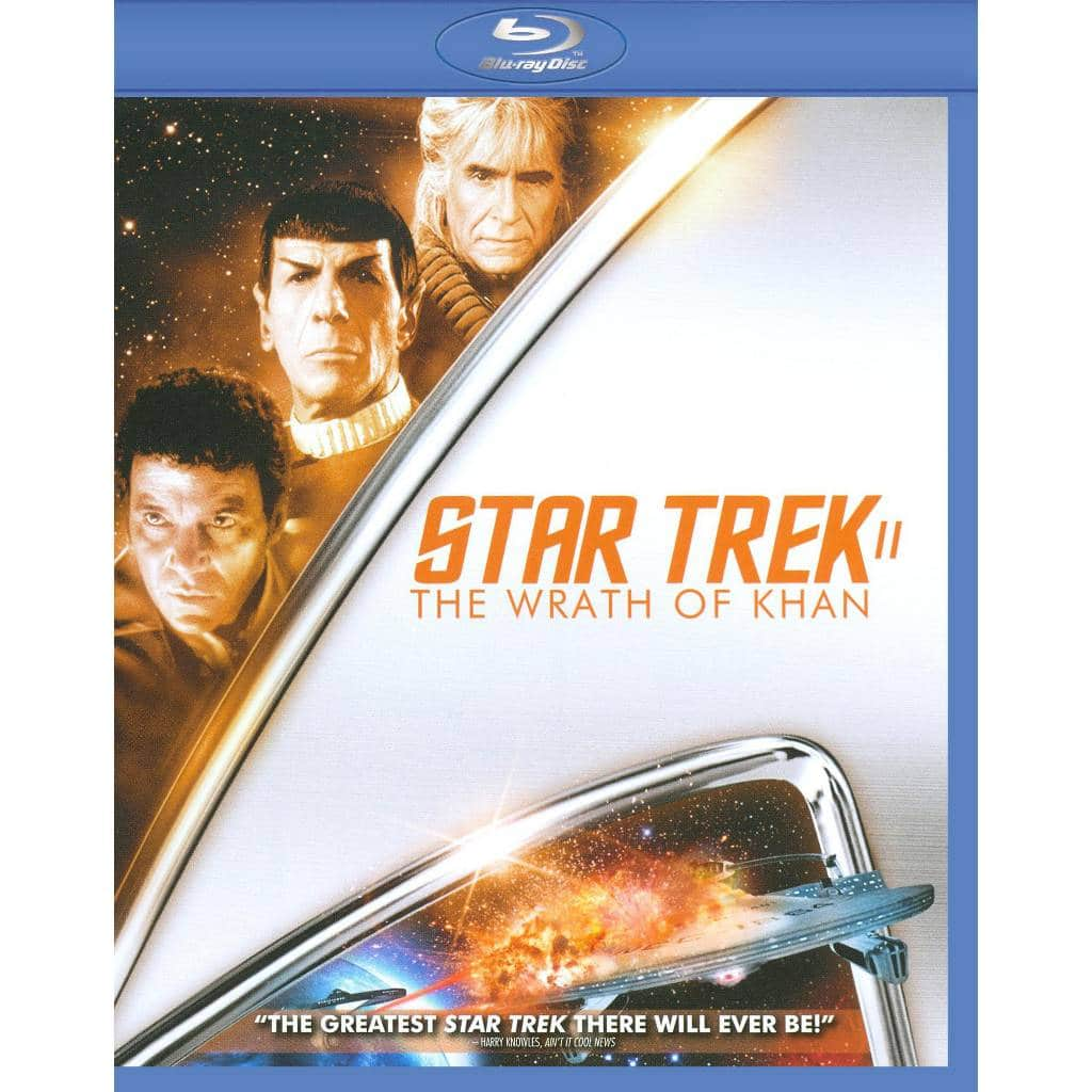 Star Trek II, IV, VI or VIII (Blu-ray) + $8 Beyond Movie Ticket  $8 each + Free Store Pickup