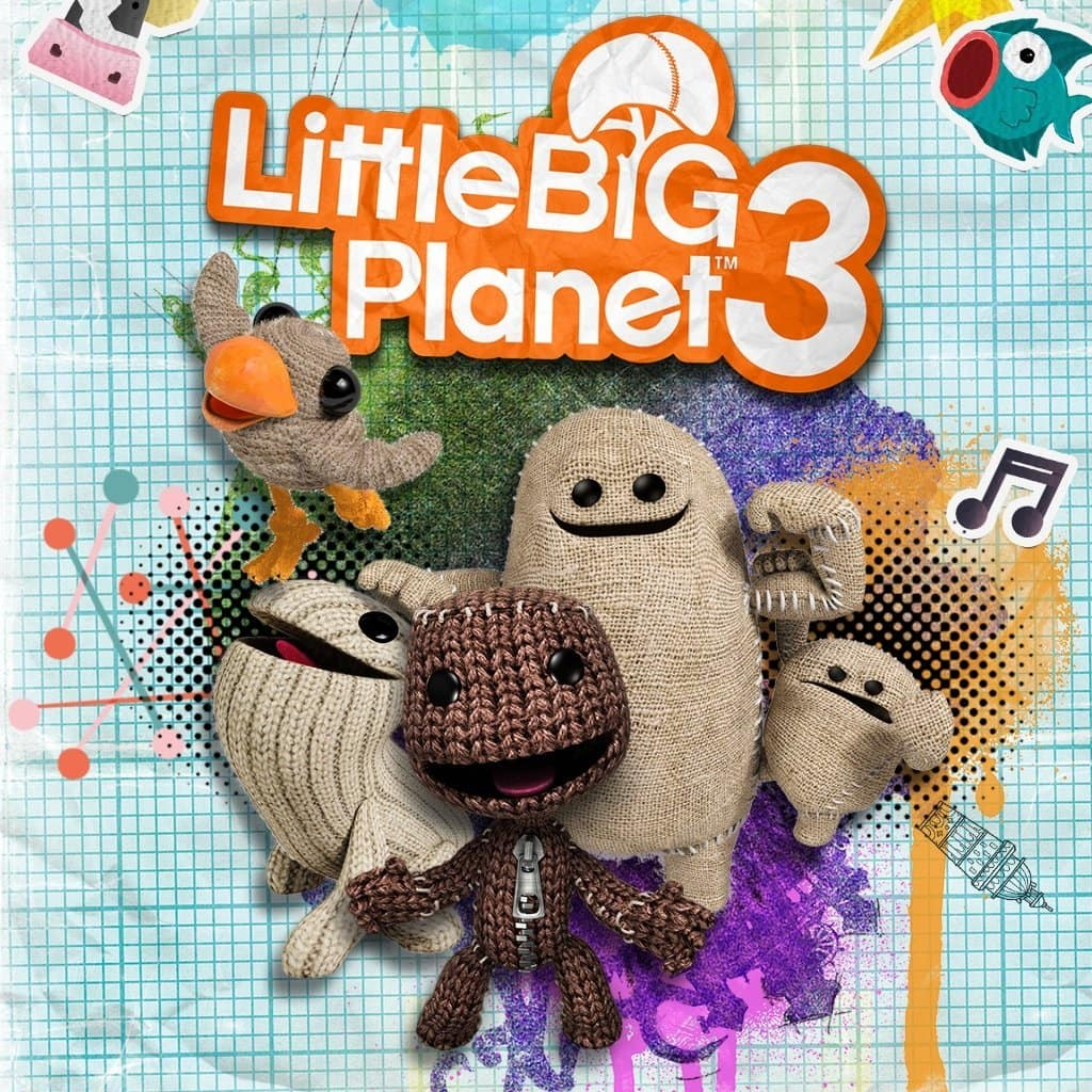 Little Big Planet 3 (PS4 Digital Code) $7.99 or Little Big Planet 3 (PS3 Digital Code) $3.99 or Less