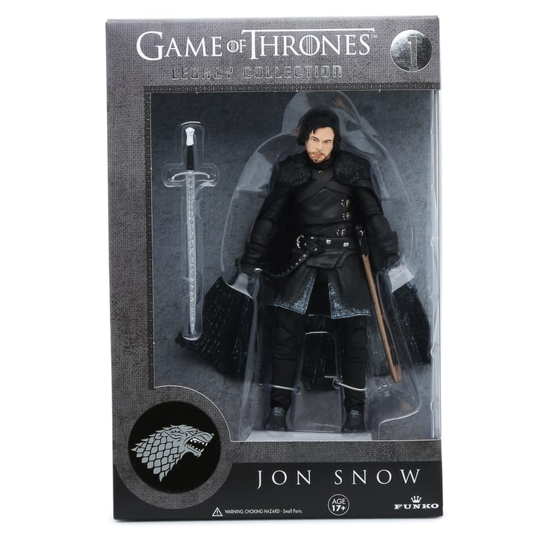 Game of Thrones Legacy Figures: Tyrion Lannister, Jon Snow, Ned Stark  $5 Each & More + Free S&H on $25+