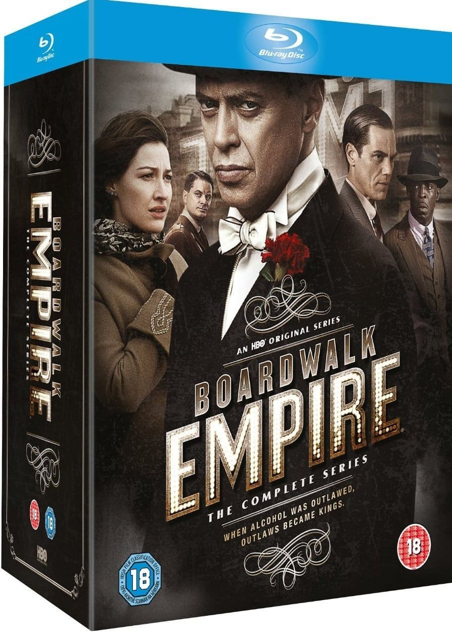 Boardwalk Empire: The Complete Series (Region Free Blu-ray)  $49