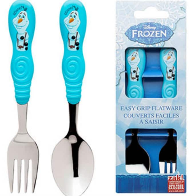 2-Piece Disney Frozen Olaf Flatware Set $5 + $5 in SYW Points + Free Store Pickup @ Kmart