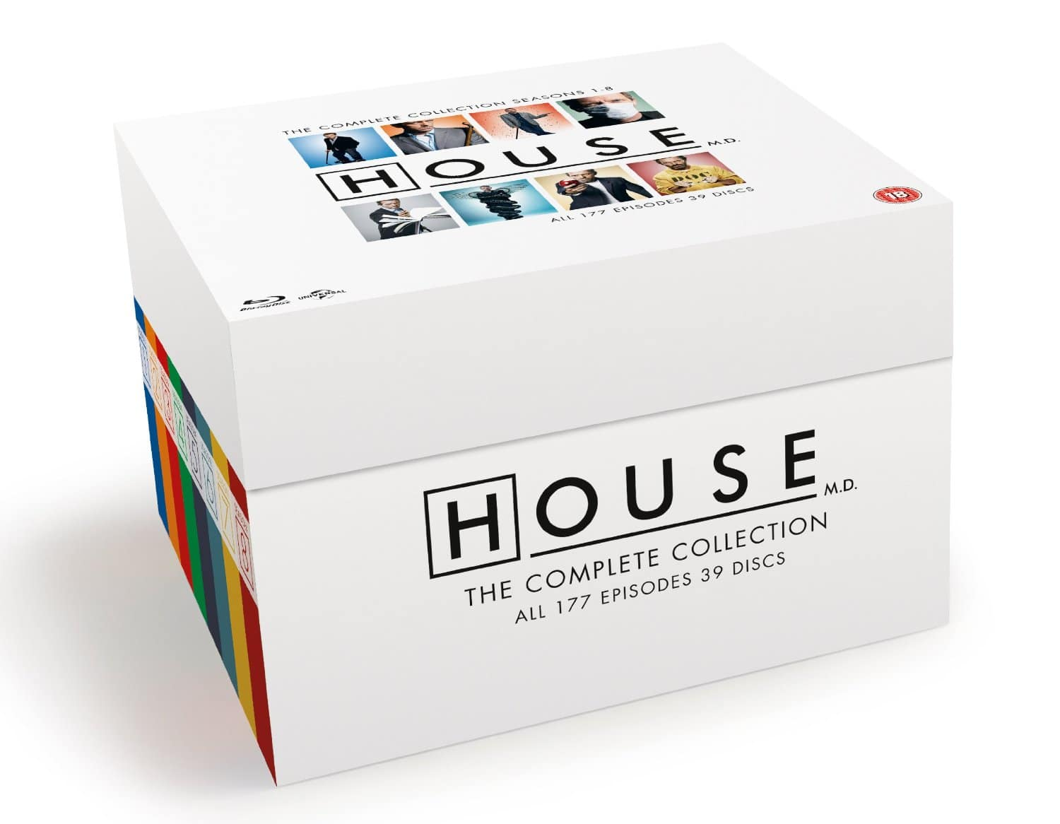 House M.D. Complete Collection (Seasons 1-8 - 39-Disc Box Set - Blu-ray) $50 Shipped