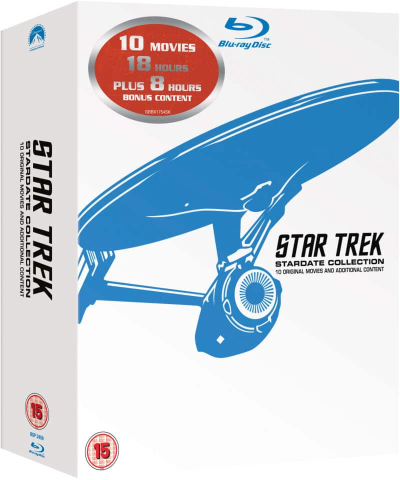 Star Trek: Stardate Collection (Region Free Blu-ray) $28.36 Shipped