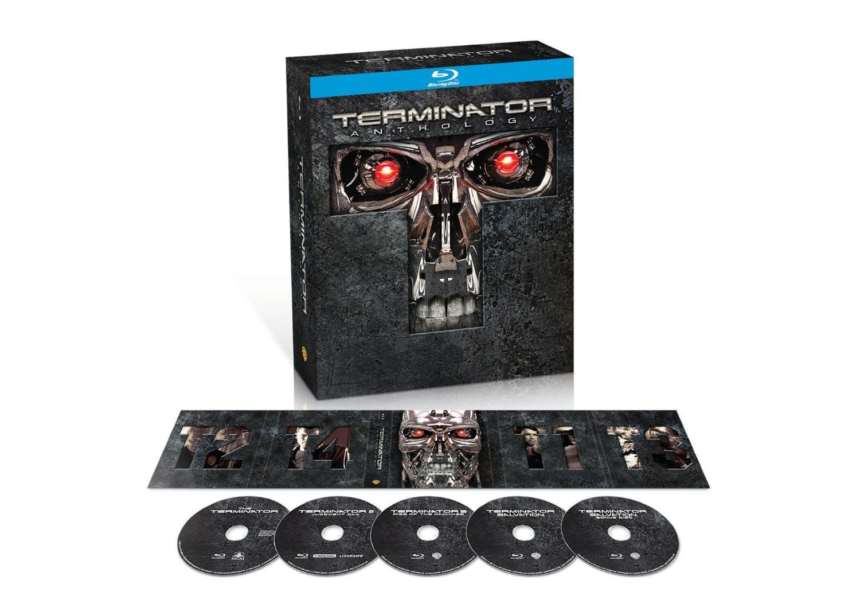 Terminator Anthology (5-Disc Blu-ray Boxed Set)  $15 + Free Shipping