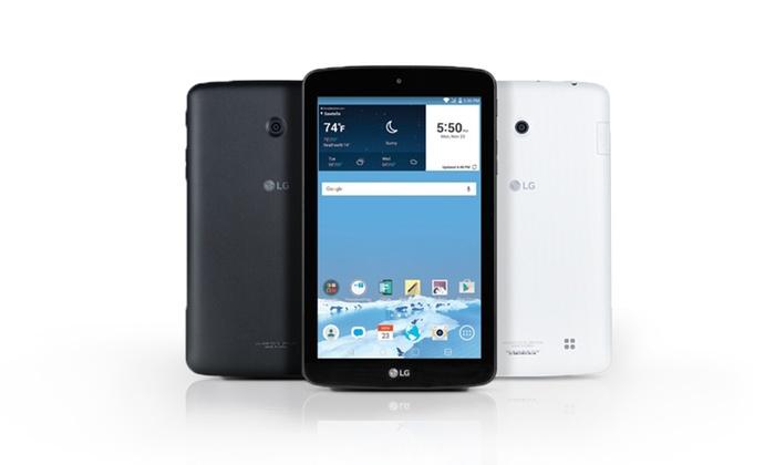 FreedomPop 8GB LG G PAD Tablet + 2200 Mah Power Bank + 2GB 4G LTE/3G Data Trial  $50 + Free Shipping