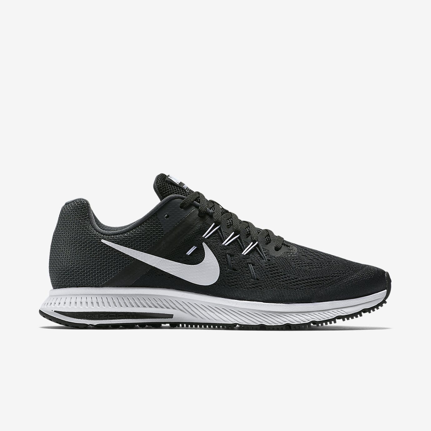 Nike Men's Zoom Winflo 2 Running Shoes (Black/White or Blue)  $40 + Free S/H w/ Nike+ Acct.