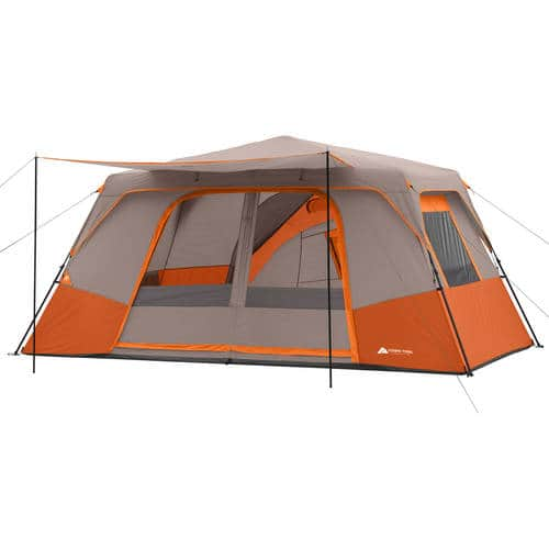 Ozark Trail 14' x 14' Instant Cabin Tent with Private Room Sleeps 11 For $99.97 Free Shipping at Walmart