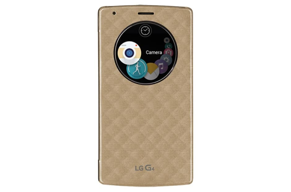LG Quick Circle Snap-On Folio Case for LG G4 $5 for 1,  3 for $10 + Free Shipping