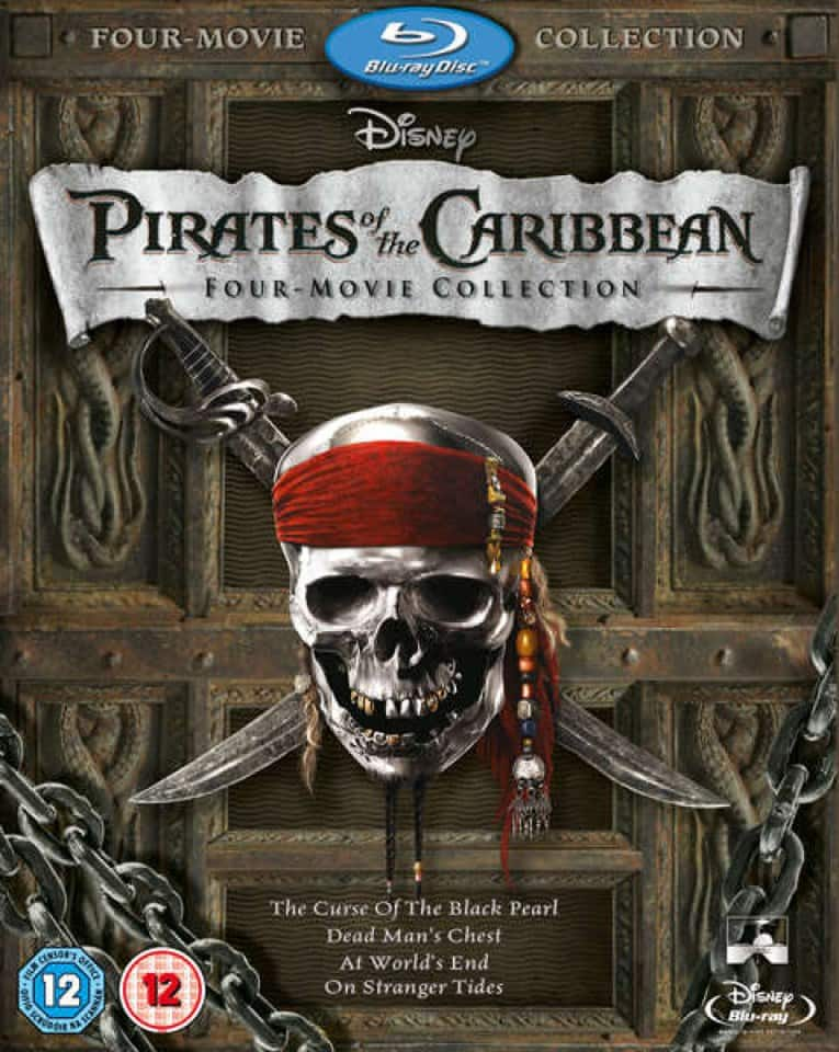 Pirates of the Caribbean 4-Film Collection (Region Free Blu-ray) $17.30 Shipped