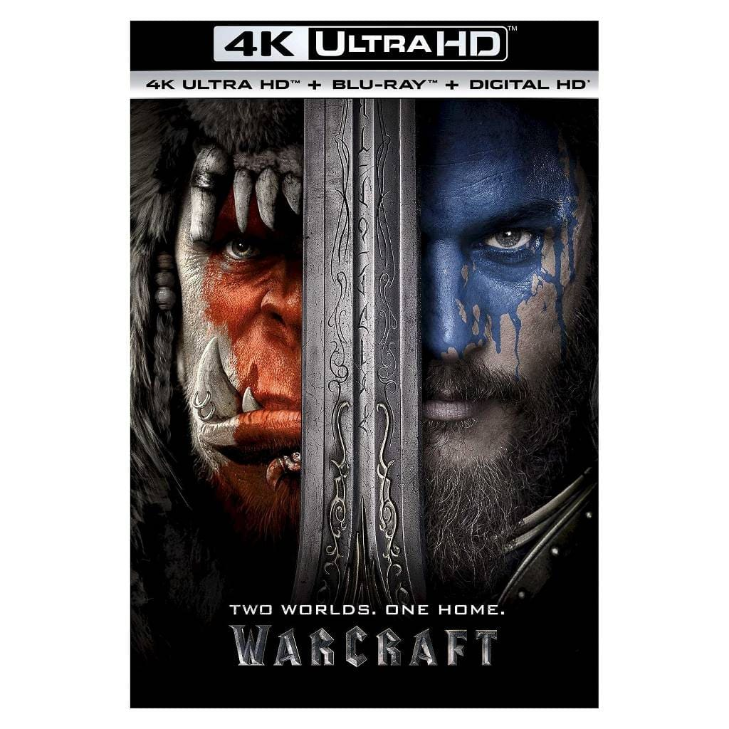 Warcraft 4k/uhd/Bluray/ Digital Target $12.99  Preorder