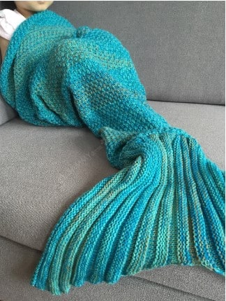 38% off!! Chic Quality Mermaid Design Blanket For Kids $5.18 AC + Free Shipping