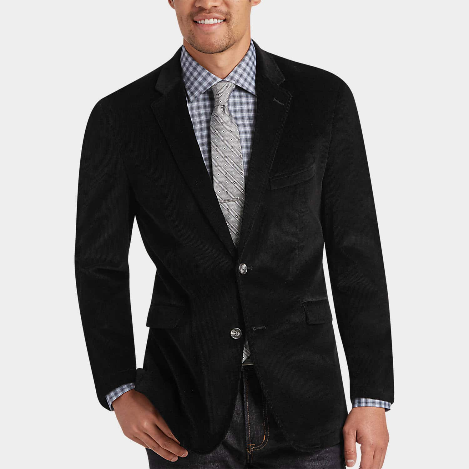 Joseph Abboud Men's Corduroy Modern Fit Casual Coat  $20 & More + Free Shipping