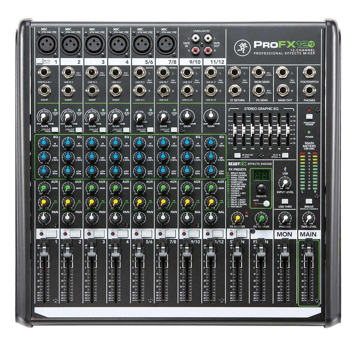 Mackie Professional FX Mixers: ProFX12v2 $170 or ProFX8v2  $130 after $30 Rebate + Free S&H