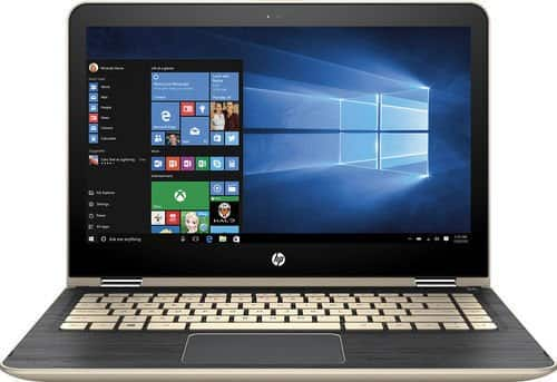 "HP Pavilion x360 2-in-1 13.3"" 1080p IPS Touchscreen Laptop: Intel Core i5-6200U, 8GB DDR4, 128GB SSD, AC WiFi, Backlit Keyboard, Win 10 $500 (Open Box $435-$448) w/ EDU Coupon @ BB"