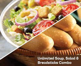 Olive Garden : Unlimited Soup, Salad & Breadsticks at Lunch for $5.99 (Ends 8/26)