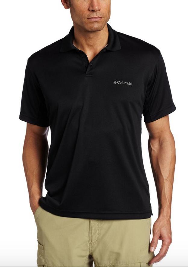 Columbia Men's New Utilizer Polo Shirt (L, XL or XXL)  $7