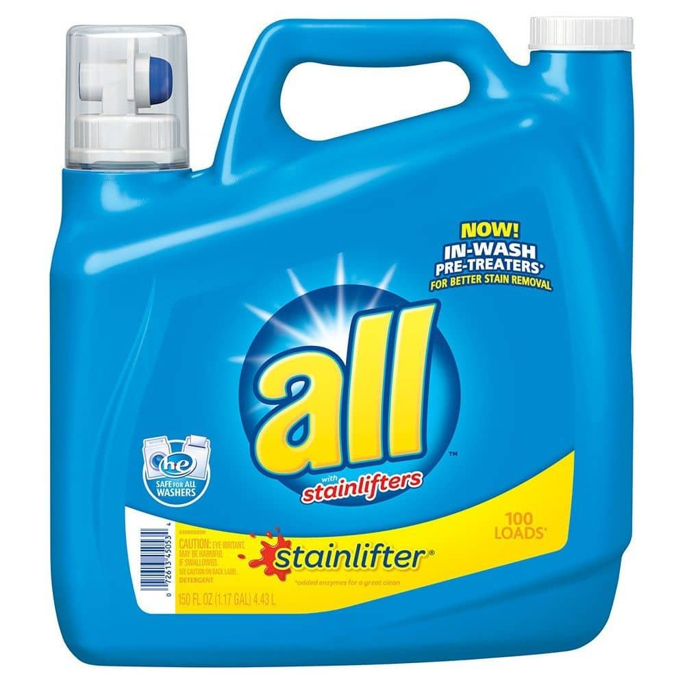 2x 150oz All Liquid Laundry Detergent + $5 Target Gift Card $15.38 + Free Shipping