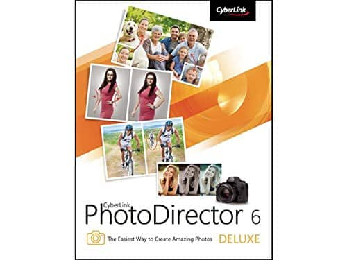 CyberLink PhotoDirector 6 Deluxe Photo Editing Software for $0 (Digital Download)