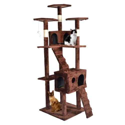 73″ Cat Tree Tower Condo (Various Colors) $44.99 + Free Shipping