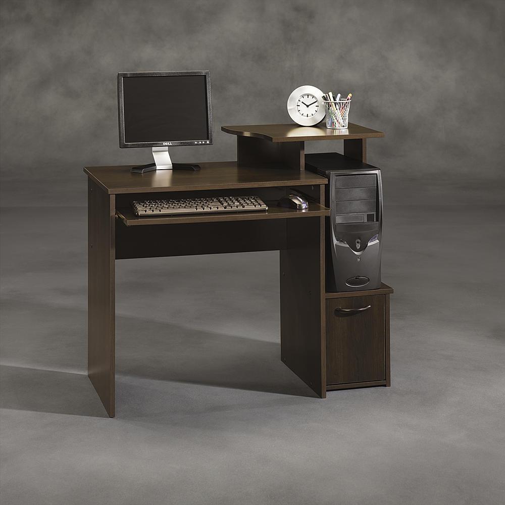 Sauder Beginnings Computer Desk (Cinnamon Cherry)  $25 & More + Free Store Pickup