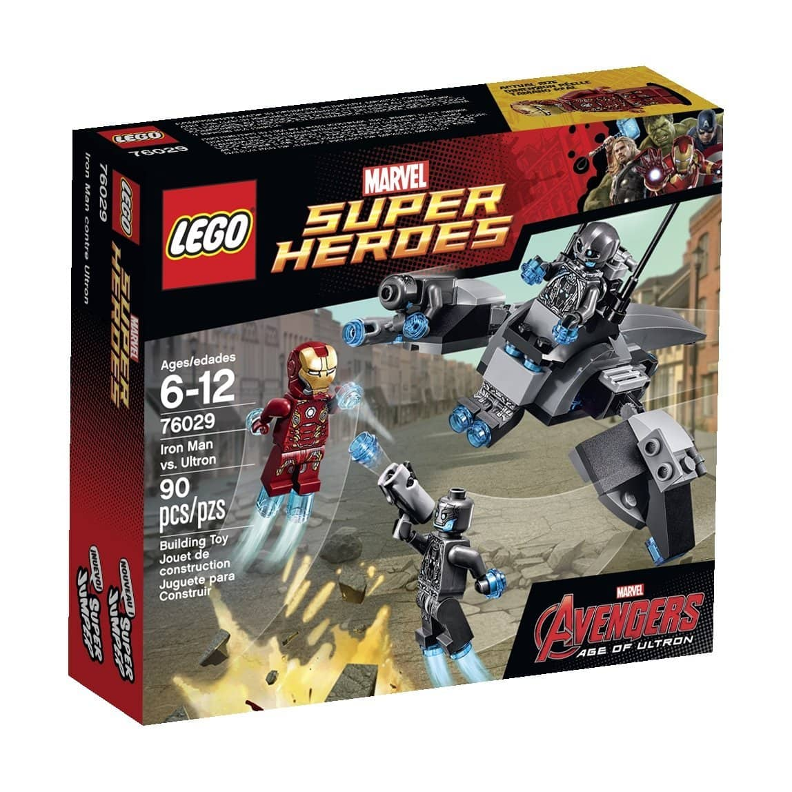 LEGO Super Heroes: Iron Man vs Ultron  $8.50 & More + Free Store Pickup